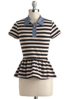 Work From Coffee Shop Top, #ModCloth