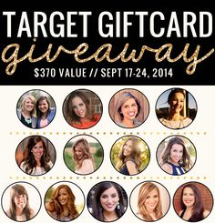 $370 Target Giftcard Giveaway