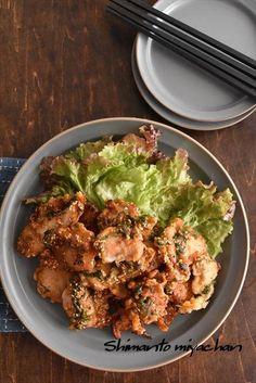 冷めても美味しい!大葉たっぷり!鶏むね肉の甘辛揚げ : 四万十住人の 簡単料理ブログ! Easy Cooking, Cooking Recipes, Japanese Food, Bento, Wine Recipes, Picnic, Food And Drink, Meals, Chicken