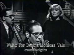 """Monica Zetterlund(vo) , Bill Evans(p) , Eddie Gomez(b) , Alex Riel(ds) Recorded in Copenhagen Oct. 1966 Monica Zetterlund with Bill Evans Trio """"Waltz for Debby"""""""