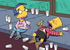 Uploaded by KingA.. Find images and videos about simpsons, money and bart on We Heart It - the app to get lost in what you love.