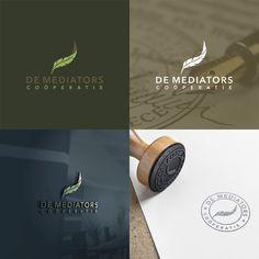 Pakkend logo voor De Mediators Co枚peratie voor aangaan concurrentie met advocatuur by Mafiart