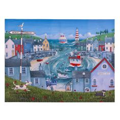 Admiral's Rest Harbour Canvas