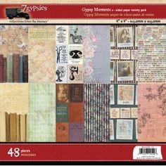 7Gypsies - Gypsy Moments - 8x8 Paper Pad