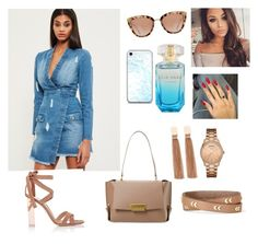"""""""Untitled #69"""" by rrezartaahmetaj ❤ liked on Polyvore featuring Missguided, Gianvito Rossi, ZAC Zac Posen, GUESS, Stella & Dot and Federica Tosi"""