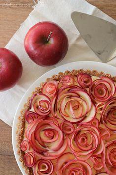 """パティシエが作ったように見えるのに初心者も作れる!""""薔薇のアップルパイ""""レシピ   by.S"""