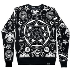 I have this badboy, I suggest it highly Occult Sweatshirt [B] | KILLSTAR.  That's witchey.