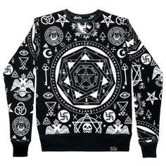 Occult Sweatshirt [B]   KILLSTAR.  That's witchey.