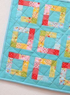 PDF Quilt Pattern In The Square MINI by ellisandhiggs on Etsy