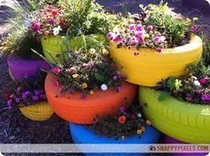 DIY Projects with Recycled Tires (26 Pictures) - Snappy Pixels