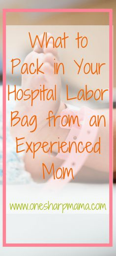 What to pack in your hospital bag when you go in to labor. Here is a list of what you need in your #labor ready bag. #momtobe bag #bagtogo #momtobe Heres a list to be as prepared for labor as you can be