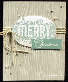 Sneak Peak Holiday Catalog cards from Flowerbug's Inkspot