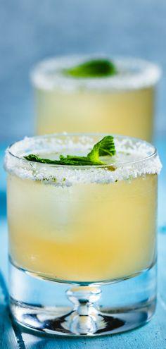 Delicious grapefruit mint margarita. #margarita #cocktails #bartender #drinks #tequila #mixeddrink