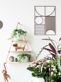 #PlantShelfie inspiration & on how-to styling with plants - Scandinavian Interior Decoration with Fermliving @monsterscircus