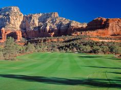 Seven Canyons Sedona Golf Course Photo Gallery and Scenery Images