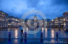 Trieste, Piazza Unità di Italia at night  - Friuli