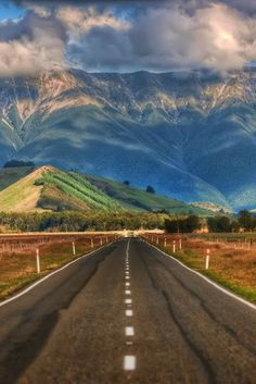 The Long Road in New Zealand. | I can't wait to start down that road.