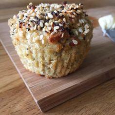 """Sökresultat för """"frukostmuffins"""" – Organic By Mommy Gluten Free Recipes, Bread Recipes, Happy Foods, Fika, Lchf, Healthy Snacks, Good Food, Brunch, Food And Drink"""