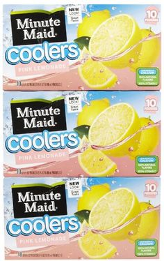 Hi-C Pink Lemonade Coolers, 6.75 oz, 3 pk ** You can find out more details at the link of the image.