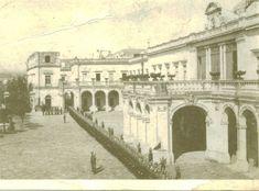 Castillo de Chapultepec cuando todavia era residencia presidencial