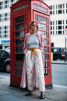 London Fashion Week Showgoers Will Inspire You to Layer a Dress Over Anything | Fashionista