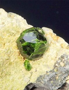 Demantoid ~ Takab, West Azarbaijan Province, Iran (Islamic Republic)