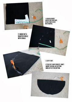 Comment fabriquer une cape en toile d'araignée sans couture! - Bricolages - Des bricolages géniaux à réaliser avec vos enfants - Trucs et Bricolages - Fallait y penser !