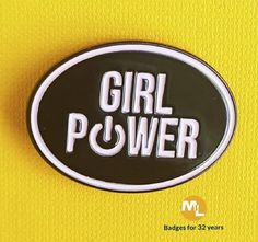 Great 'girlie' pink badge for the Master Race!