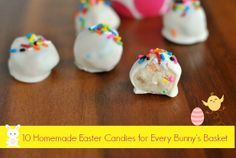 10 Homemade Easter Candies for Every Bunny's Basket