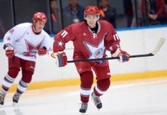 President Vladimir V. Putin, right, took part in a friendly hockey match on Jan. 4 at the Bolshoy Ice Dome in Sochi. Go to related article »...
