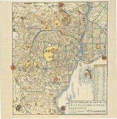 改正御江戸繪圖 1826(文政9)年