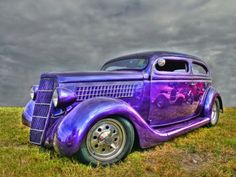 Purple Car                                                      (rePinned 091413TLK)
