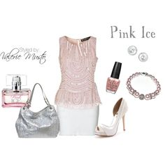 "#beauty #fashion #pink ""Pink Ice"" by valerie-musto on Polyvore"