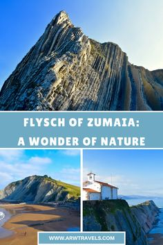Zumaia is a small village in the northern Spanish region of the Basque Country that hides one of the most incredible geological formations on Earth. If you'd to discover one of the locations of the next season of Game of Thrones, you can't miss this place!