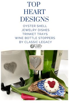 This oyster shell jewelry dish is the perfect Valentine gift for blue and white Chinoiserie lovers! Jewelry Dish, Shell Jewelry, Geometric Pattern Design, Oyster Shells, Wine Bottle Stoppers, Craft Box, Ring Dish, White Gift Boxes, Hostess Gifts