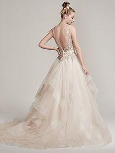 Amelie Wedding Dress by Sottero and Midgley Back