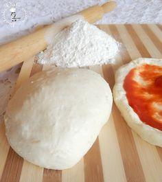 Impasto per la pizza,ricetta base