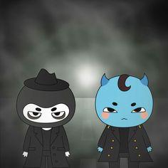 Goblin & The Grim Reaper Goblin Art, Ost Goblin, Goblin Korean Drama, Ugly Cry, Moonlight Drawn By Clouds, Kwon Hyuk, Drama Memes, Lee Dong Wook, Yook Sungjae