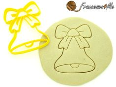 Christmas Bell Cookie Cutter/Multi-Size by Francesca4me on Etsy
