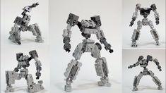 Lego Mech Frame Tutorial - EO Frame