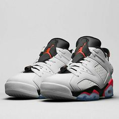 The Air Jordan 6 Low brings Infrared back into the mix.  More details in Jordan Release Dates on SneakerNews.com
