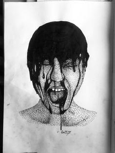 #ink #dotwork #art #doodles #design #darkart Pen Art, Dark Art, Drawing Ideas, Art Sketches, The Darkest, Art Ideas, Doodles, Dots, Ink