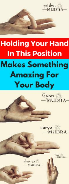 Holding Your Hand In This Position Makes Something Amazing For Your Body How To Do It!!! - All What You Need Is Here