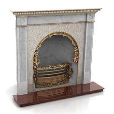 3D Model Fireplace | Category: Fireplaces