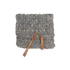 NOVICA Natural Fiber Woven Clutch Handmade in Indonesia ($30) ❤ liked on Polyvore featuring bags, handbags, clutches, accessories, clothing & accessories, grey, braided handbag, man bag, braided purse and snap coin purse