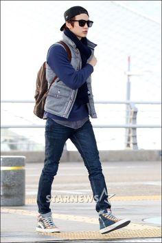 minho // airport fashion cool!