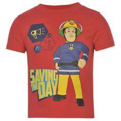 FIREMAN SAM ~ Red T-Shirt