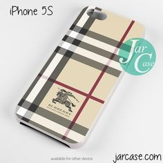 burberry white Phone case for iPhone 4/4s/5/5c/5s/6/6 plus