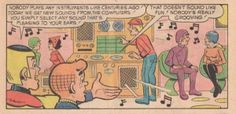 Archie travels from 1972 to 2012 (via bOING bOING).
