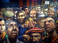 'Manifestacion' by Antonio Berni - 1934